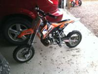 KTM pro senior 50cc dirt bike. It is in good running
