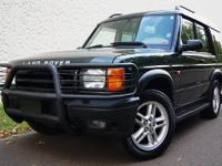 2002 Land Rover Discovery 4dr Wgn SE7  ONLY 78K MILES