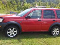 2002 Land Rover Freelander. 5 door. $3,000 obo. Good