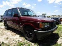 Look at this 2002 Land Rover Range Rover HSE. Its