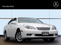 Looking for a clean, well-cared for 2002 Lexus ES 300?