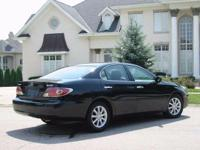 2002 Lexus ES 300. Black Leather. Gently used. Like