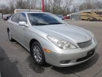 Presenting the 2002 Lexus ES 300! It simply showed up