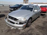 parting out 2002 Lexus IS300  EVERYTHING MUST GO !!