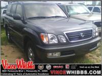 CARFAX 1-Owner. LX 470 trim. WAS $17,991, $3,400 below