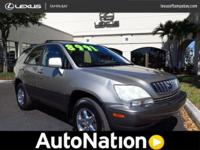 2002 Lexus RX 300 Our Location is: Lexus Of Tampa Bay -