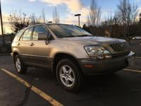2002 Lexus RX 300. Leather Trim Package, AWD, Ivory