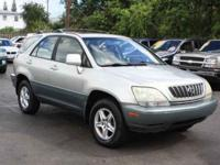 2002 Lexus RX 300 four wheel-drive....Clean
