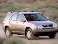 2002 Lexus RX 300. Leather Trim Package, Navigation