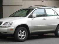 2002 Lexus RX 300. Leather Trim Package and AWD. Barely