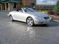 Options:  2002 Lexus Sc 430 Convertible|Silver|74419