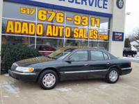 Options:  2002 Lincoln Continental Visit Adado Auto