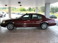 2002 Lincoln Town Car!!! Sold AS IS, local vehicle,