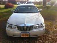 Up for sale is a 2002 Lincoln Town Car Cartier Premium.