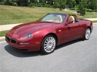 This is a Maserati, Spider for sale by Flemings