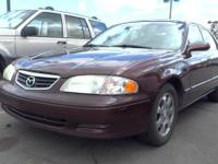 Look at this 2002 Mazda 626 LX. Its Automatic