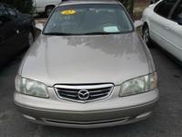 Options:  2002 Mazda 626 Lx Sedan 4D|Miles: