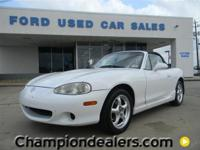 This is a Mazda, MX-5 for sale by Champion Ford Gulf