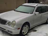 2002 Mercedes-Benz All Wheel Drive Estate Wagon, model