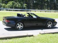 2002 Mercedes Benz SL 500, 3 times black, sport plan