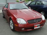 Firemist Red Metallic 2002 Mercedes-Benz SLK SLK 230