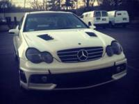 Up for sale is a Mercedes c230k with a very good