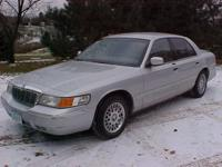 2002 MERCURY GRAND MARQUE - 112,879 MILES - DRIVES and