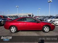 FUEL EFFICIENT 30 MPG Hwy/21 MPG City! Sport trim. CD
