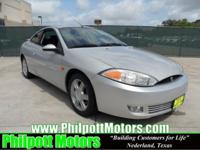 Options Included: N/A2002 Mercury Cougar Coupe, silver