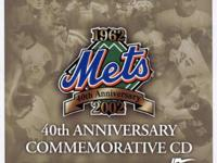 Type: CDs Style: Soundtrack 2002 METS 40th Anniversary