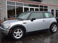 GPS! Fully packed, low-mileage 2002 MINI Cooper in an