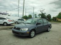 2002 MITSUBISHI LANCER          NICE AND CLEAN,