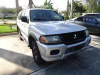 Description 2002 MITSUBISHI Montero Sport Tilt Steering
