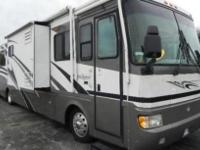 2002 Monaco Diplomat- - It has a 330 Cummins motor. The