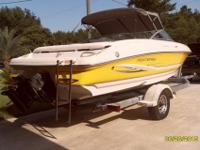 2002 Monterey Montura 190LS. The boat is powered by a