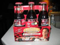 2002 NASCAR Winston Cup Champion Tony Stewart 6 pack of