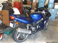 ninga 750 for sale really low mile.this bike has been