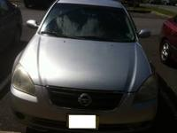 Available 2002 Nissan Altima 2.5 SL Clean Title Silver
