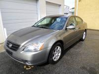 2002 Nissan Altima 2.5 S*, Automatic, 2 Owners, No