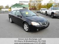 2002 Nissan Altima 3.5 SE for sale, Automatic, 6cyl,