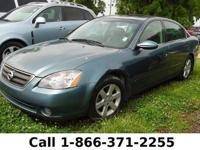 *2002 Nissan Altima S* - Leather Seats - Safety Airbags