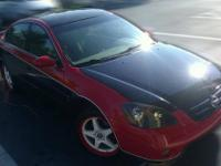 This is a post for a customized 2002 Nissan Altima
