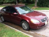 2002 Nissan Altima. In Great Condition. Selling my