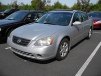 2002 Nissan Altima. Runs great. New tires last year,