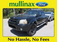 Options:  2002 Nissan Frontier Se-V6|Recent Arrival!