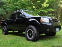 2002 NISSAN FRONTIER SUPERCHARGED 4X4! Crew cab Long
