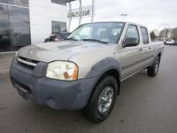 Options:  2002 Nissan Frontier Xe 2Wd