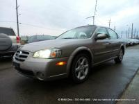 CARFAX Certified good running 2002 Nissan Maxima SE.