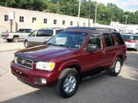 Options Included: N/A02 NISSAN PATHFINDER