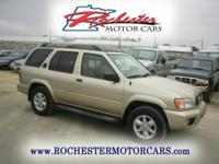 2002 Nissan Pathfinder SE with 116,480 miles. Local